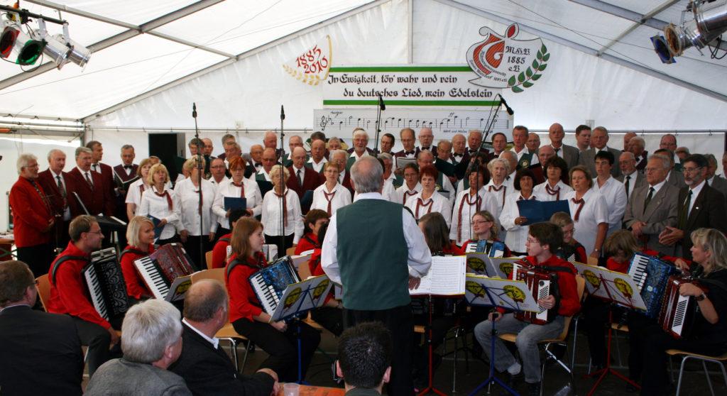 Großes Festkonzert anlässlich des 125jährigen Bestehens des Männergesangvereins Lausa/Weixdorf 1885 e.V.